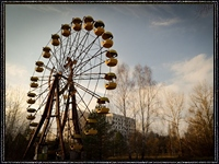 Колесо обозрения в Припяти запущено