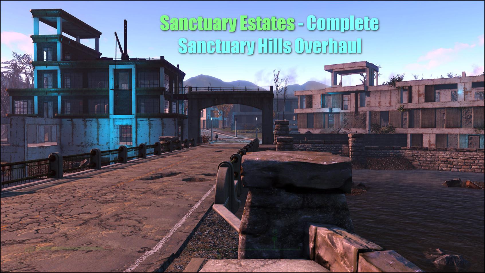 Sanctuary Estates капитальный ремонт Сэнкчуари