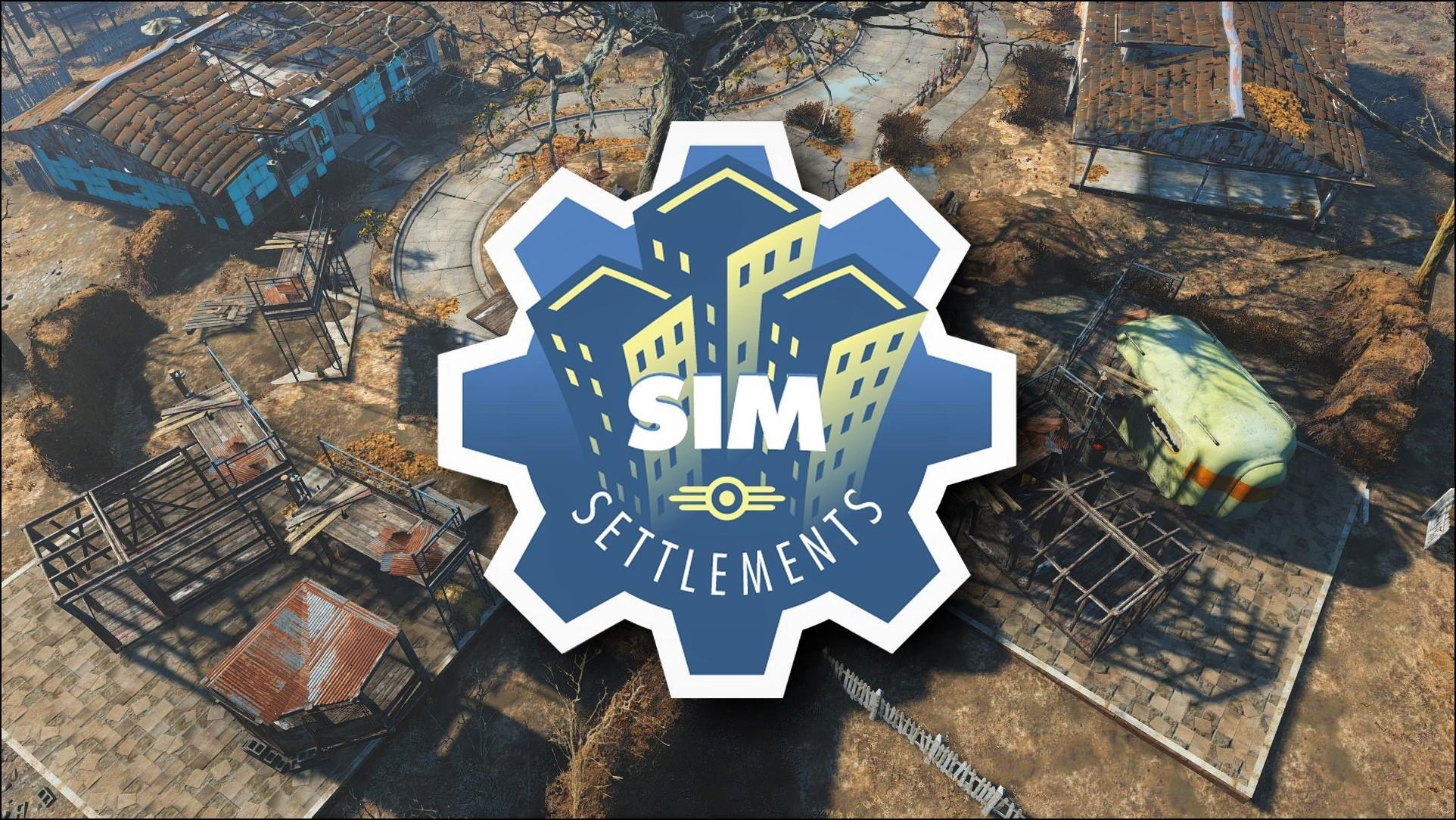 Fallout 4 Sim Settlements rus