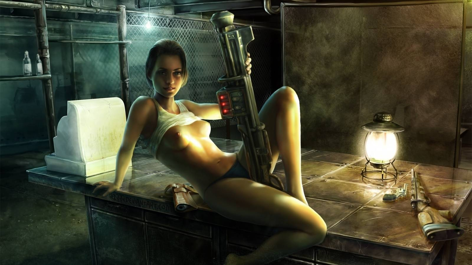 Erotic for fallout 3 nude clip